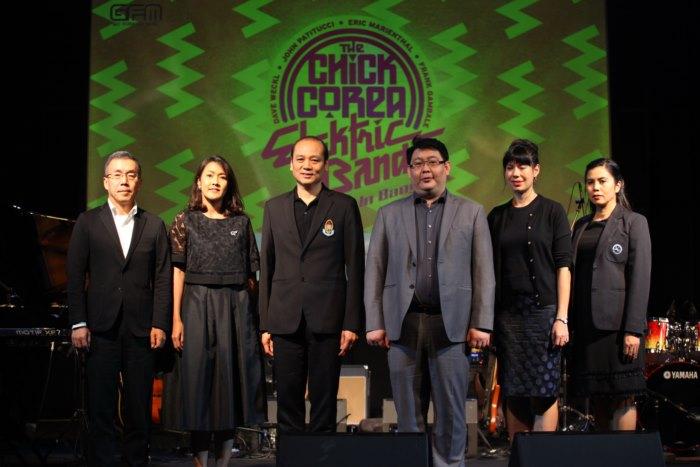 ครั้งแรกในประเทศไทย แถลงข่าวสุดยอดคอนเสิร์ต วงระดับตำนาน CHICK COREA ELEKTRIC BAND LIVE IN BANGKOK
