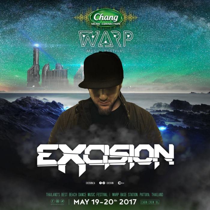 ZEDS DEAD นำทีมดีเจ Excision Deorro Dyro เตรียมขึ้นยาน WARP Music Festival 2017