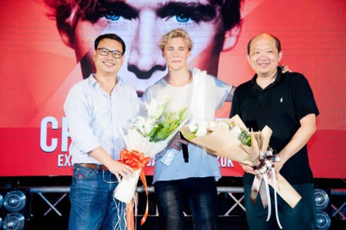 คริสโตเฟอร์ ปลื้มแฟนเพลงชาวไทยต้อนรับ อบอุ่น หวังใจว่าจะได้กลับมาอีก!