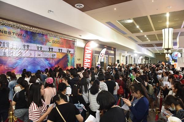 7 หนุ่ม GOT7 เตรียมระเบิดความสนุกแบบจัดเต็มอย่างต่อเนื่อง GOT7 THAILAND TOUR 2017 NESTIVAL