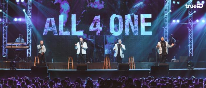 ALL 4 ONE LIVE IN BANGKOK 2017 ที่สุดคอนเสิร์ตป๊อบ อาร์แอนด์บีแห่งปี