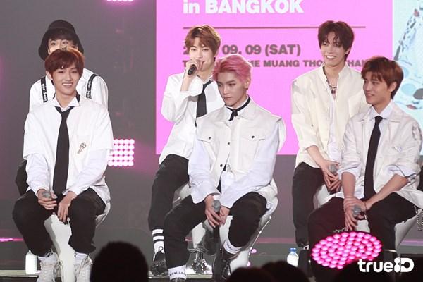 9หนุ่ม NCT 127 เสิร์ฟความฟิน ก่อนงาน NCT 127 Fan Meeting in Bangkok