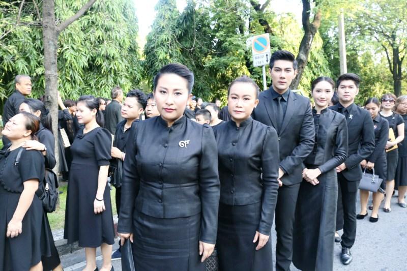 ประมวลภาพ ศิลปินไทย น้อมส่งเสด็จสู่สวรรคาลัย จากทั่วไทยและต่างประเทศ