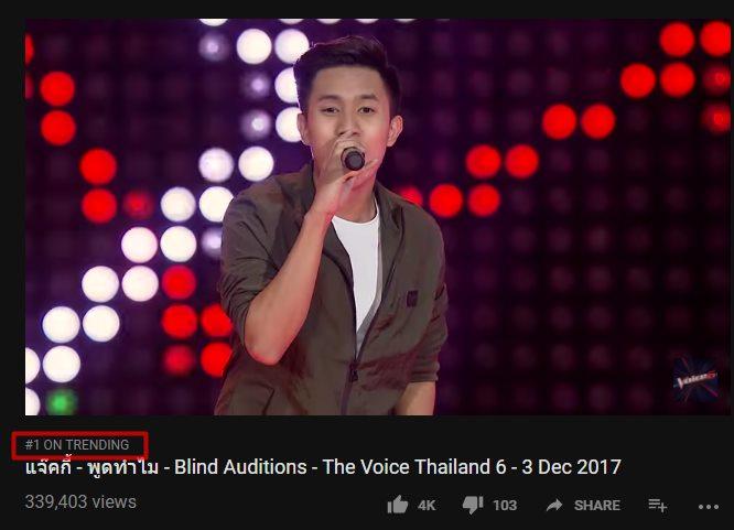 เปิดวาร์ป!! แจ๊คกี้ นักร้อง สปป.ลาว คนแรกใน the voice ไทยแลนด์ ฮิตติดเทรนด์ อันดับ 1