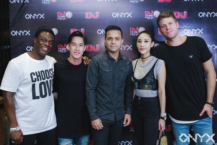 ONYX จัดปาร์ตี้ขนดีเจชั้นนำระดับโลก TUJAMO ร่วมฉลองครบรอบ 1 ปี