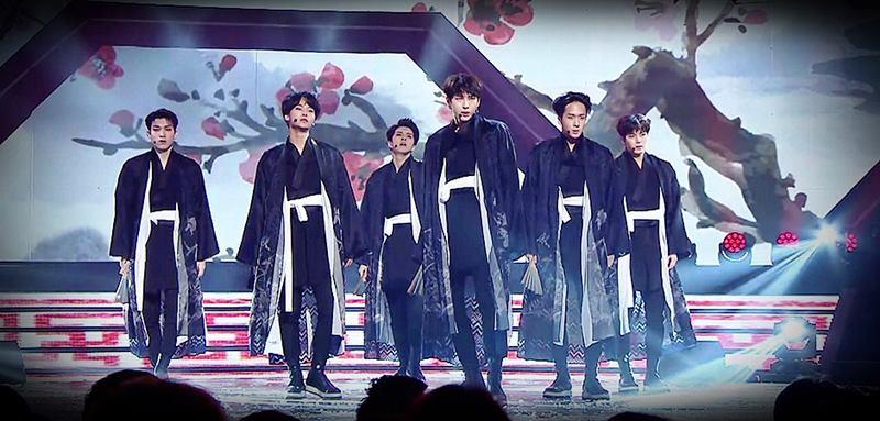 งดงาม ราวกับศิลปะ VIXX เฉิดฉายในงานส่งท้ายปีเก่าของ MBC