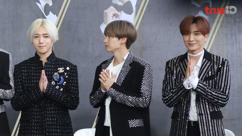ภาพจัดเต็ม 7 หนุ่ม Super Junior เท่เกินห้ามใจ ให้สัมภาษณ์สื่อ Super Junior World Tour Super show 7 in Bangkok
