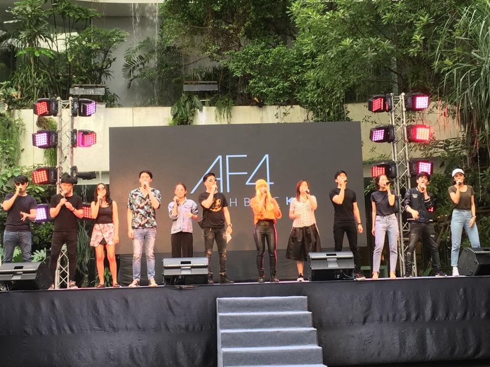 AF4 รวมรุ่นอีกครั้ง! ใน AF4 Flash Back Concert