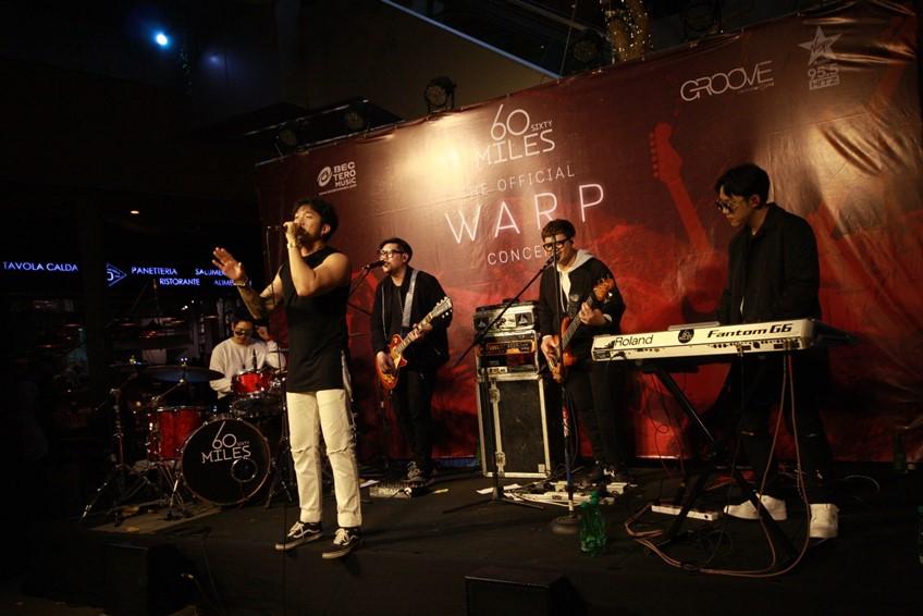 60Miles จัดเต็มคอนเสิร์ตเปิดอัลบั้มใหม่ WARP เพื่อนศิลปินร่วมยินดีเพียบ