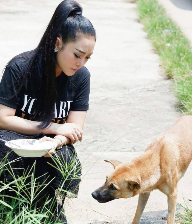 ทำด้วยใจ! หญิง ธิติกานต์ เมินคนมองสร้างภาพ น้อมรับฉายา นางฟ้าหมาแมวข้างถนน