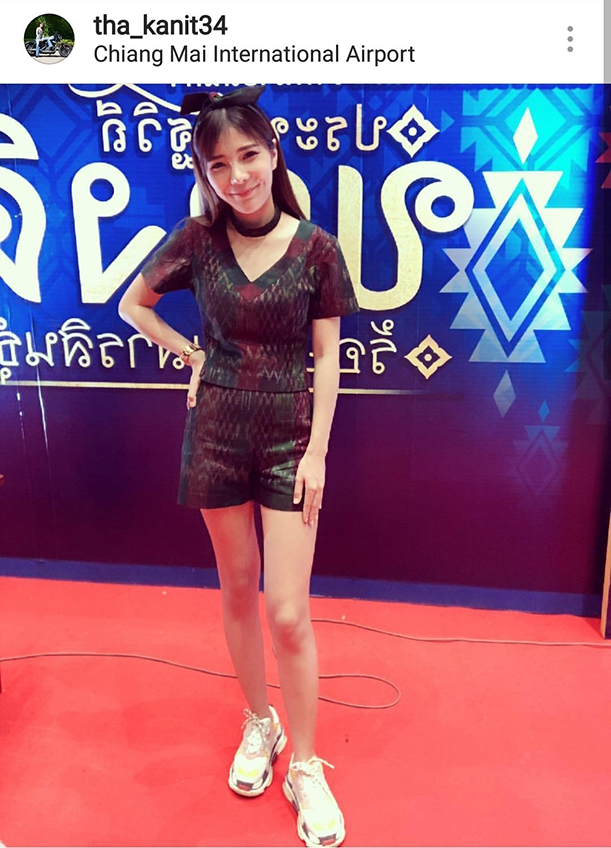 ใครว่าผ้าไทยเชย! 9 ช็อต เบล ขนิษฐา หวานใจ ก้อง ห้วยไร่ แฟชั่นผ้าไทยสวยทะลุไอจี