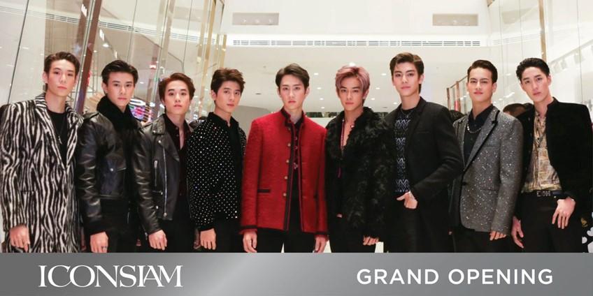 เคนนี จี ซีวอน เป๊ก BNK48 นำทีมนักร้องซุปตาร์ ร่วมงานเปิดตัว ไอคอนสยาม สุดยิ่งใหญ่!