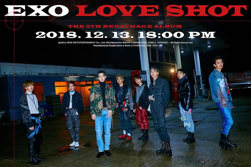 ราชาแห่งเค-ป๊อป EXO คัมแบ็ค! ยิง LOVE SHOT สะกดทุกคนด้วยเสน่ห์สุดเซ็กซี่