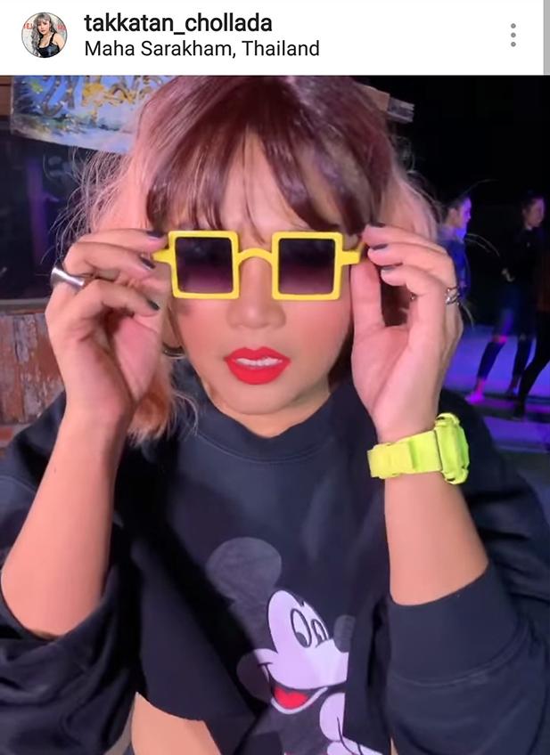 คนสวยจ๋าแว่นซื้อที่ไหน! ตั๊กแตน ชลดา ใส่แว่นสุดแนว แฟนๆ ชมจ๊าบสุดๆ ไปเลย (มีคลิป)
