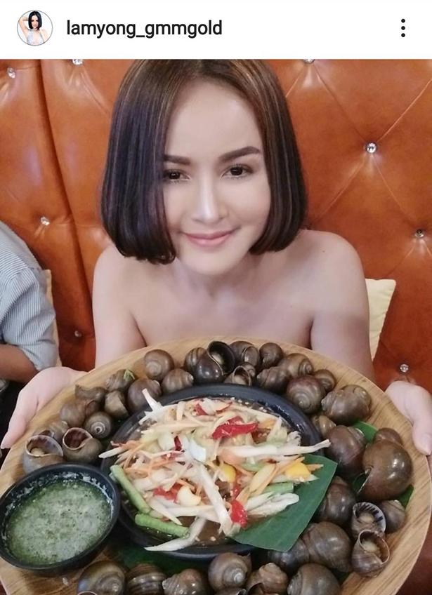 หอยนาสดจัง! ลำยอง หนองหินห่าว อวดอาหารรสเด็ด แซ่บกว่าในจานก็คนถือนี่แหละ