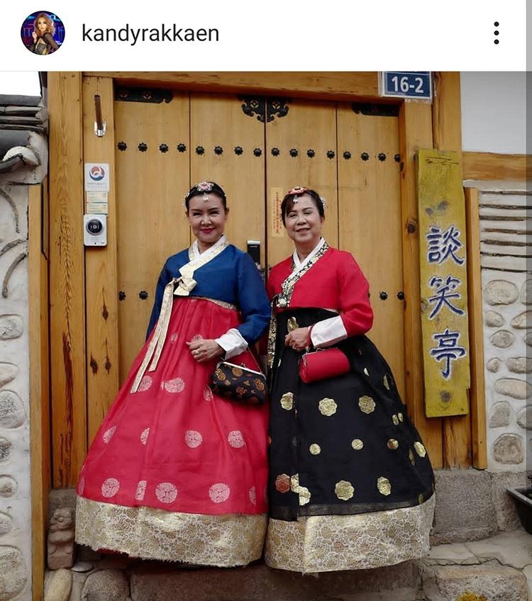 อันยองฮาเซโย! บานเย็น รากแก่น แต่งฮันบกเยือนเกาหลี 66 แต่งแบบนี้ยังโซคิ้วท์