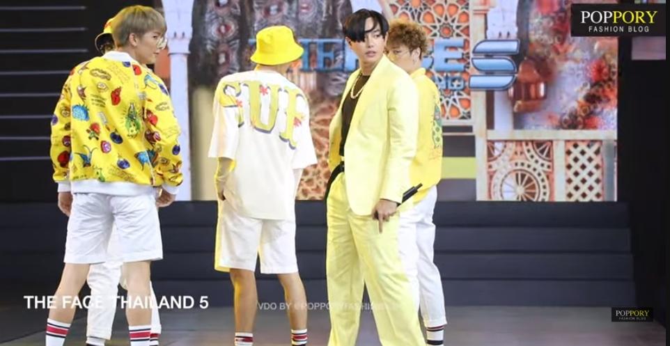 นักร้องหรือนายแบบ! เป๊ก ผลิตโชค เท่มาก! โชว์เปิด Final Walk THE FACE THAILAND 5 (มีคลิป)