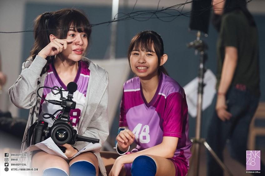 ภาพเบื้องหลัง MV เพลง Reborn BNK48