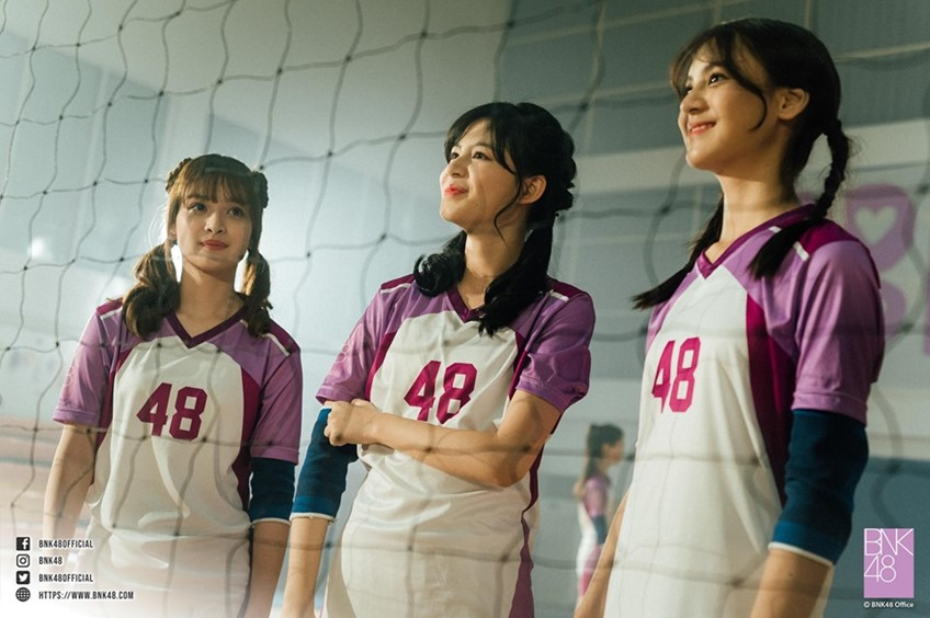 ภาพเบื้องหลัง MV REBORN - BNK48