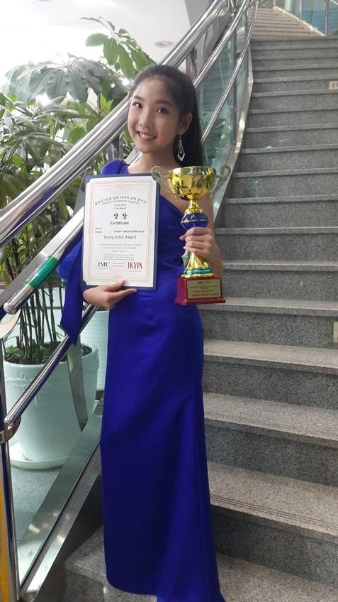 เด็กไทยสร้างชื่อ! ฟางฟาง ทศเกิร์ล ตัวแทนศิลปินไทย คว้ารางวัล Young Artist Awards จากประเทศเกาหลี!