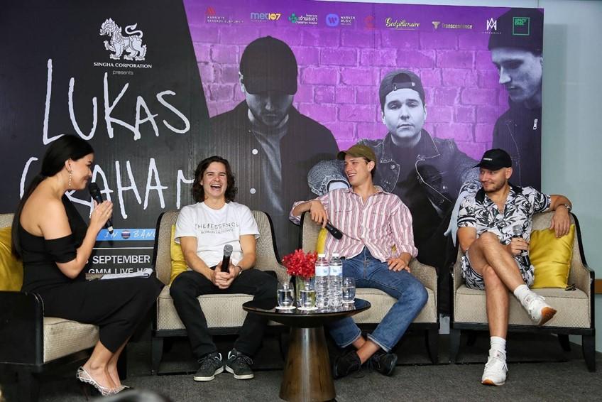 พร้อมแสดงแล้ว! Lukas Graham ตื่นเต้นเยือนไทยอีกครั้ง ประเดิมประเทศแรกของอาเซียน