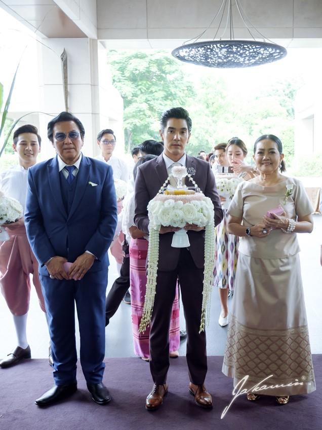 ควันหลงงานแต่งงาน ใบเตย อาร์สยาม - ดีเจแมน พัฒนพล