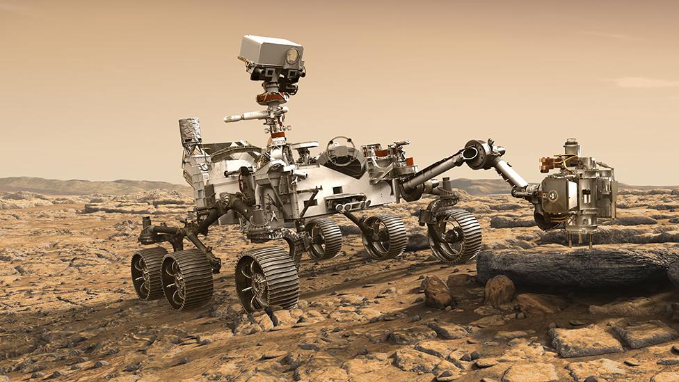 ดาวอังคาร: หุ่นยนต์ตระเวนสำรวจ Perseverance กับภารกิจค้นหาร่องรอยสิ่งมีชีวิตโบราณ