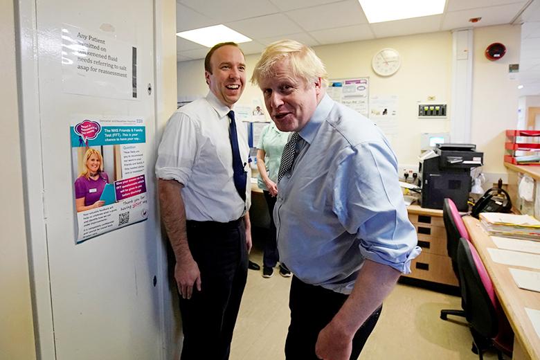 สรุปว่าติดโควิดทั้งคู่ นายกฯ-รัฐมนตรีสาธารณสุขอังกฤษ ลั่นทำงานได้