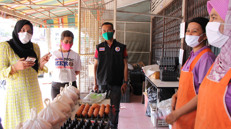 พาณิชย์ จ.นราธิวาส รุดตรวจสอบ 'ร้านขายไข่' หลังประชาชนร้องเรียน