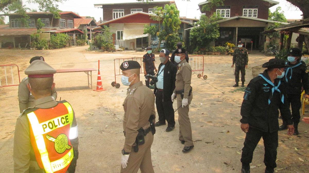 นครพนม ปิด 2 หมู่บ้าน ห้ามเข้าออกเด็ดขาด หลังพบหญิงวัย63ติด โควิด จากผับในกทม