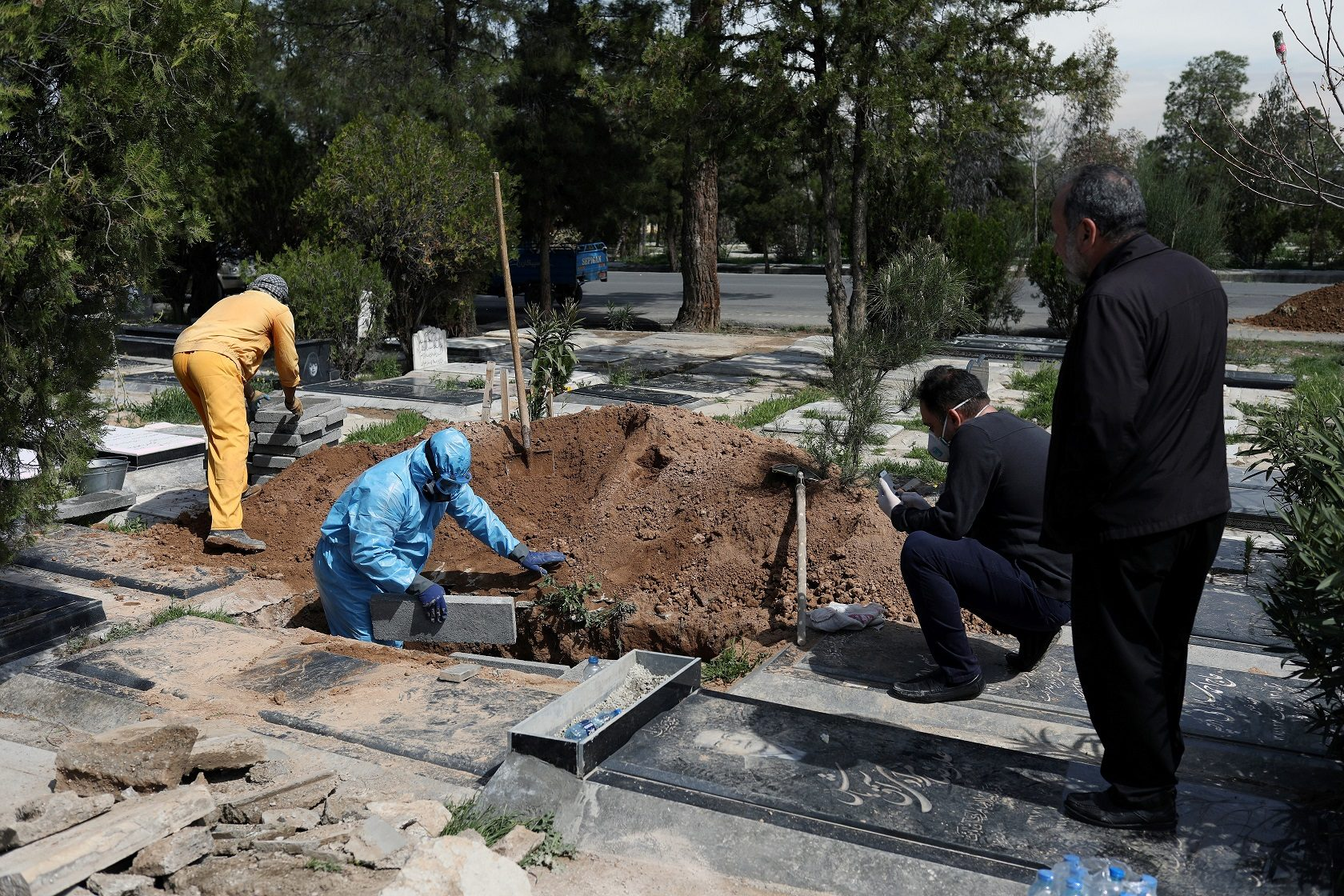 """อิหร่านตายจาก """"โควิด-19"""" วันเดียวเพิ่มขึ้น 123 ราย ติดเชื้อเพิ่มอีก 2.9 พัน"""