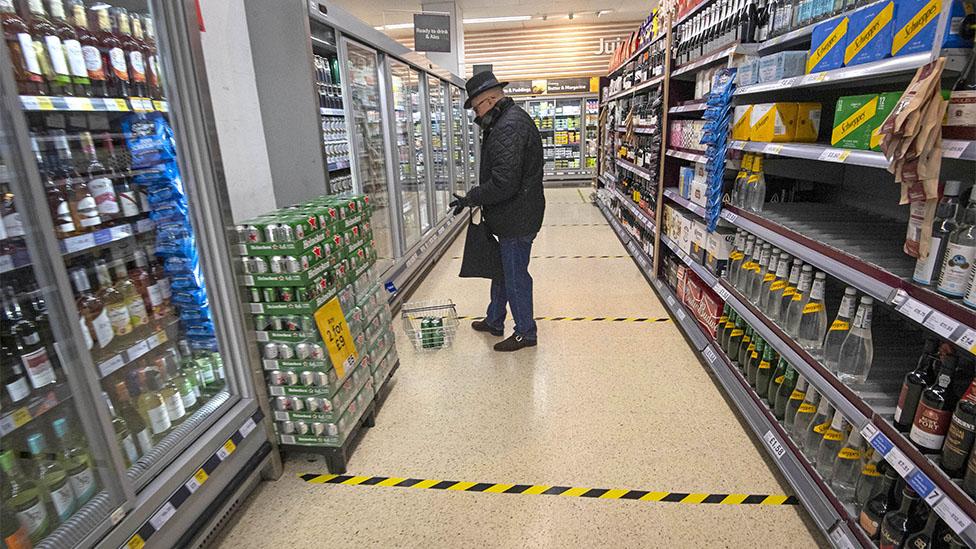 ไวรัสโคโรนา : การไปซูเปอร์มาร์เก็ตหรือสั่งอาหารมาบ้านเสี่ยงโรคโควิด-19 แค่ไหน