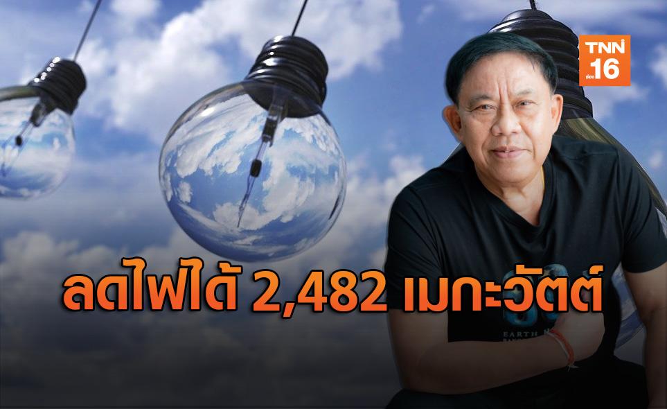 ปิดไฟ 1 ชั่วโมง! ลดการใช้ไฟได้ 2,482 เมกะวัตต์