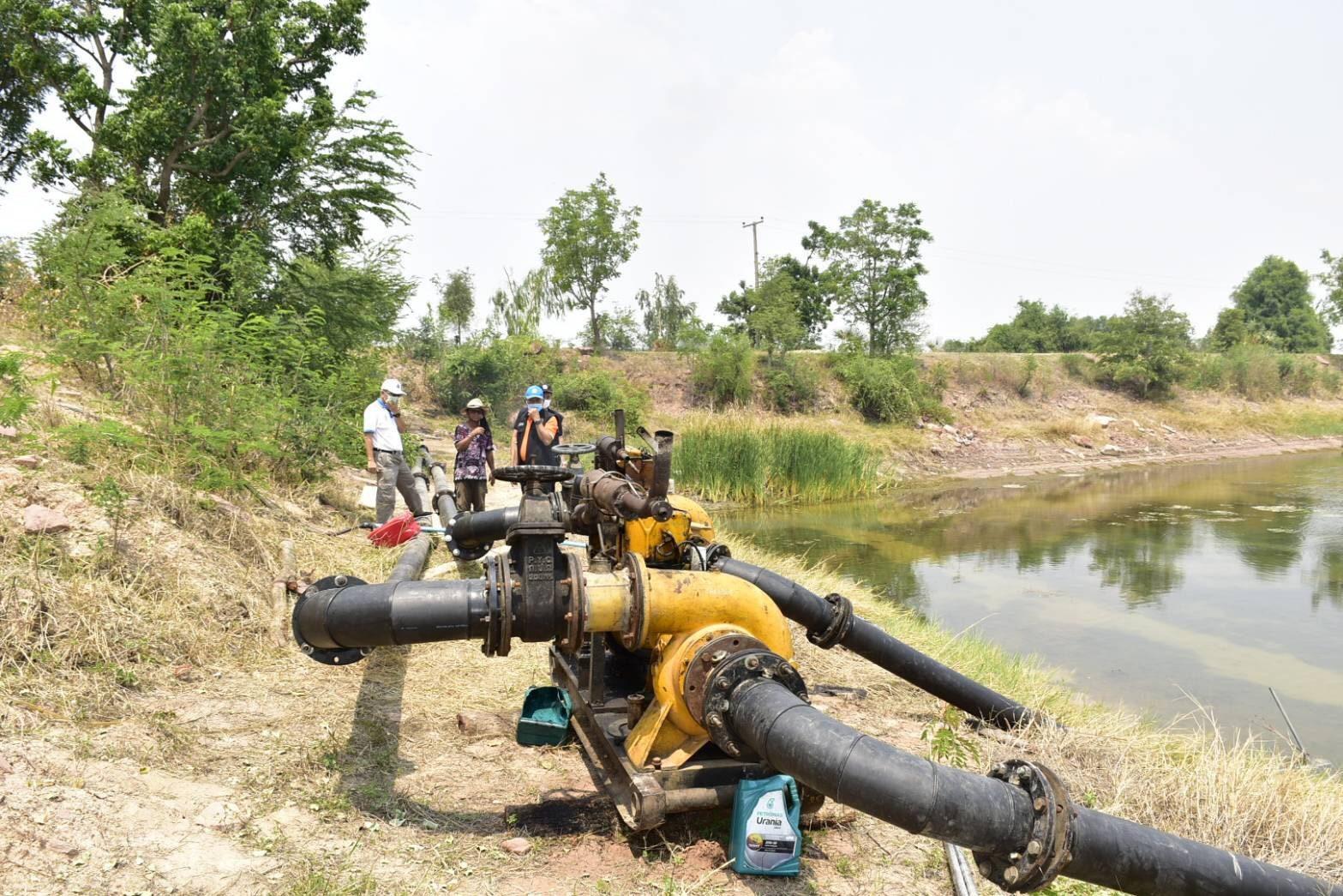 ชป.ลุยสำรวจอ่างเก็บน้ำเพิ่มศักยภาพเก็บกักน้ำแก้แล้งดินหน้าช่วยเหลืออย่างต่อเนื่อง