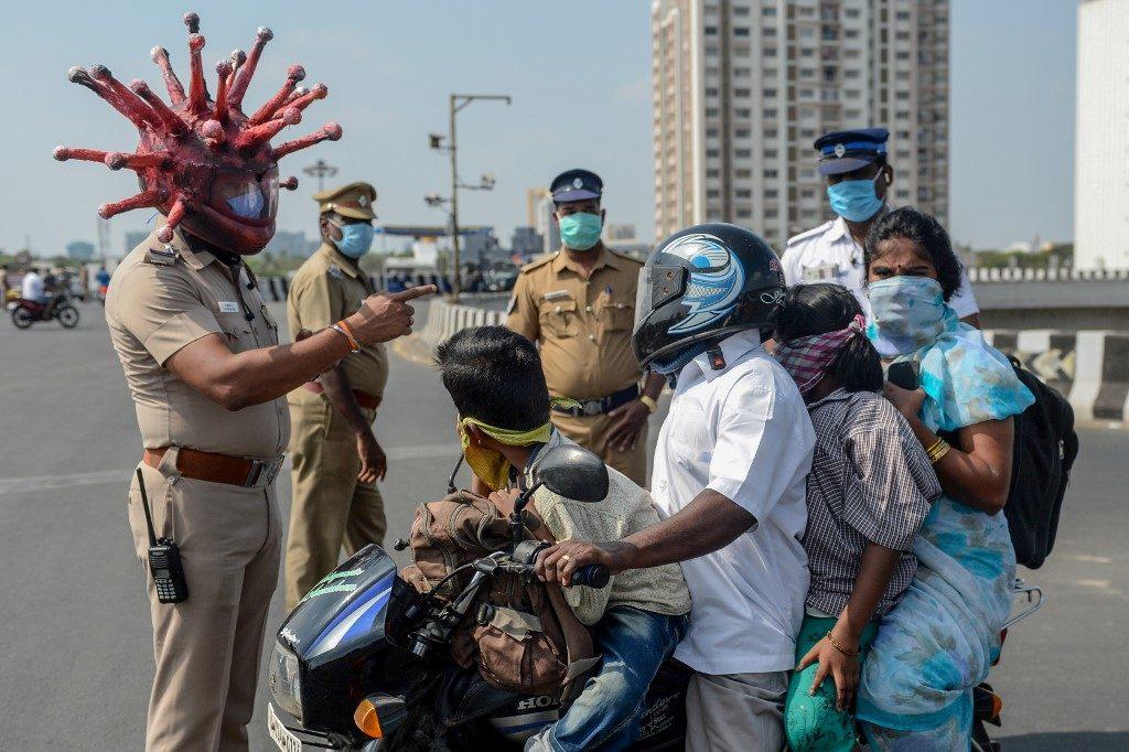 คนจนอินเดียโวยรัฐบาลหนัก ล็อคดาวน์ทำไม่มีกิน หางานทำไม่ได้ แห่เดินเท้า 3 วันกลับบ้าน