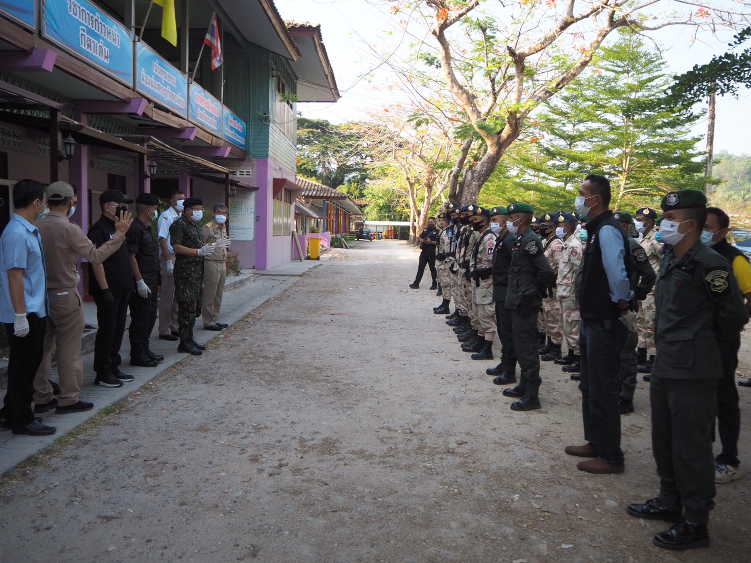 ระนอง ประกาศแตกหักไวรัส ยันเต็มเหนี่ยวรักษาพื้นที่ ทีซีแสกนหมู่บ้านจับตากลุ่มเสี่ยง
