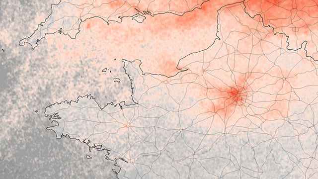 ไวรัสโคโรนา : ก๊าซพิษในหลายชาติยุโรปลด หลังปิดประเทศสู้โควิด-19