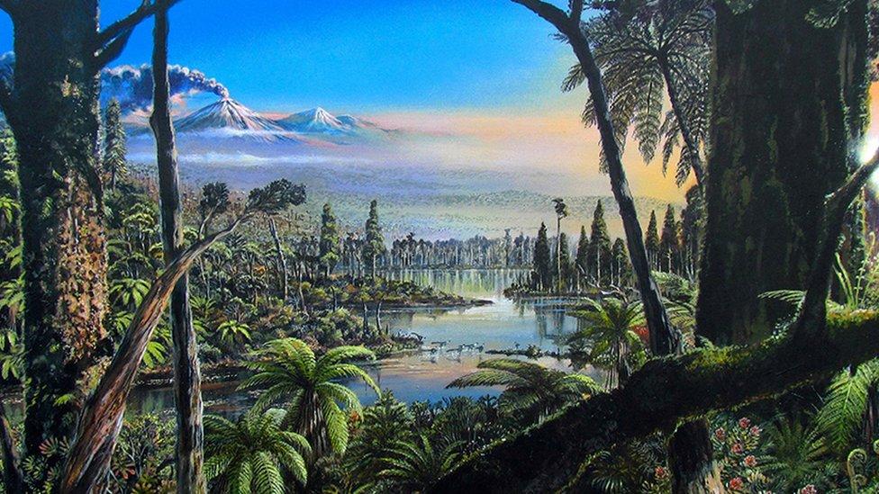 ทวีปแอนตาร์กติกาเคยเป็นป่าฝน มีไดโนเสาร์อาศัยอยู่เมื่อ 90 ล้านปีก่อน