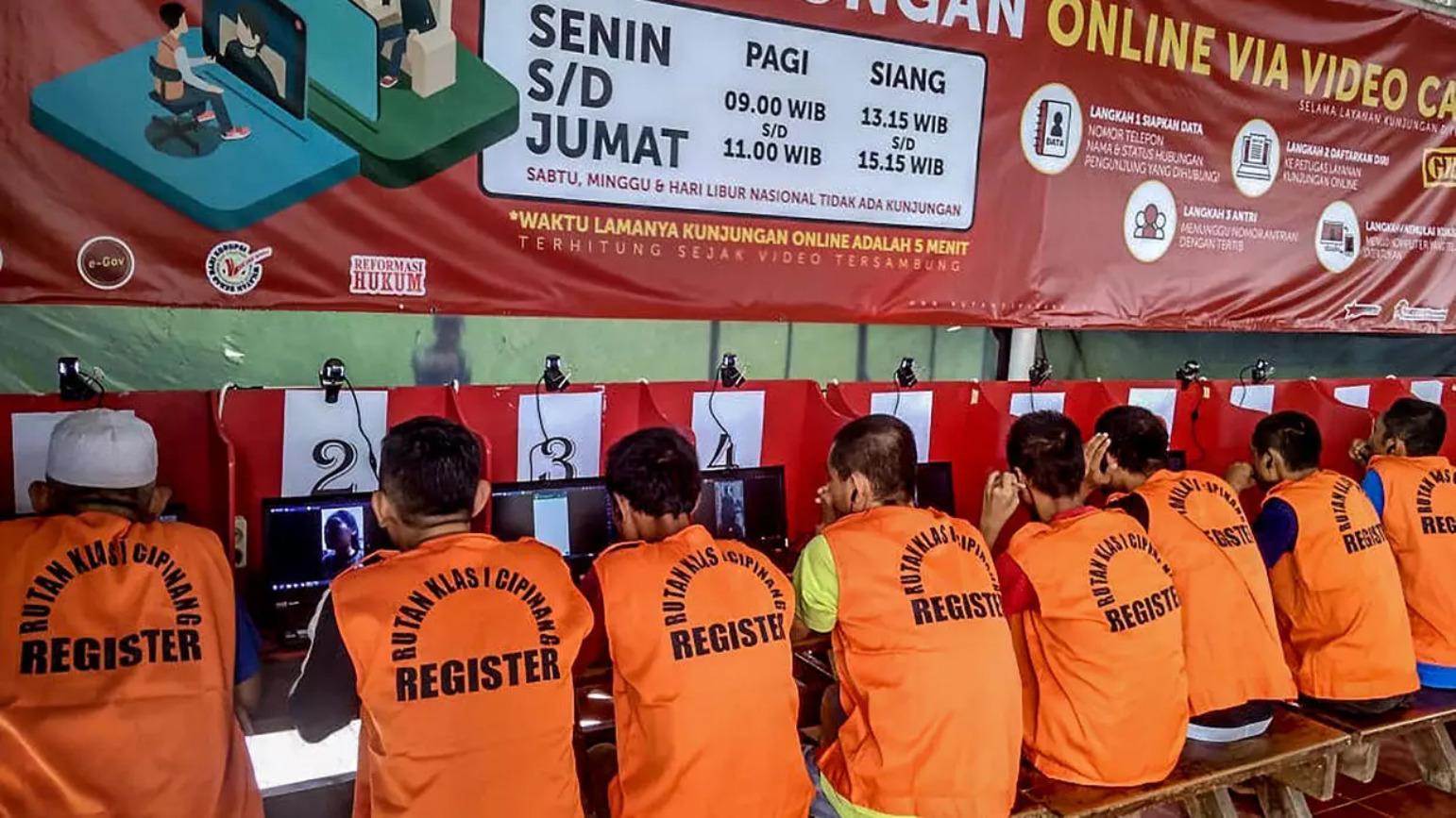 โควิด: อินโดนีเซียปล่อยนักโทษ 18,000 คน ลดเสี่ยงโรคระบาดในเรือนจำ