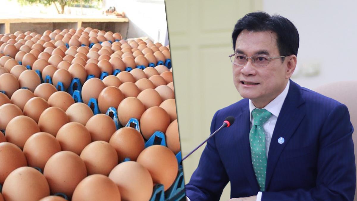 จุรินทร์ บี้ฟาร์มไข่ รายงานสต๊อกทุกวัน โวสถานการณ์ดีขึ้น เพราะมาตรการของพาณิชย์