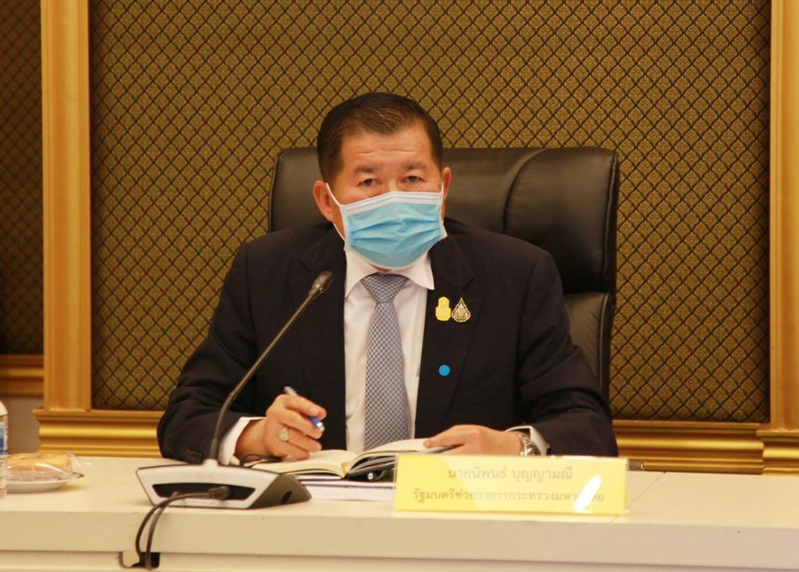มท.2 สั่งคุมเข้มเข้าออกชายแดนไทย-มาเลเซีย ป้องกันโควิดแพร่ระบาด