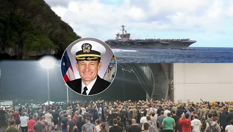 กัปตันเรือโควิดระบาด ได้รับเสียงเชียร์กึกก้อง สวนกองทัพสั่งปลด