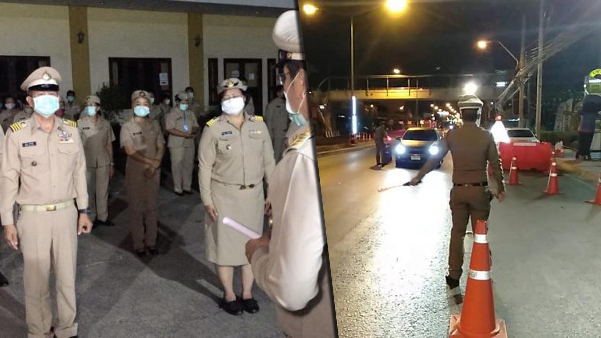 เอาจริง! นนทบุรี จับ 5 หนุ่ม ฝ่าฝืนเคอร์ฟิว รายแรกขี่จยย.เมาแอ๋ ฟันข้อหาเพิ่ม