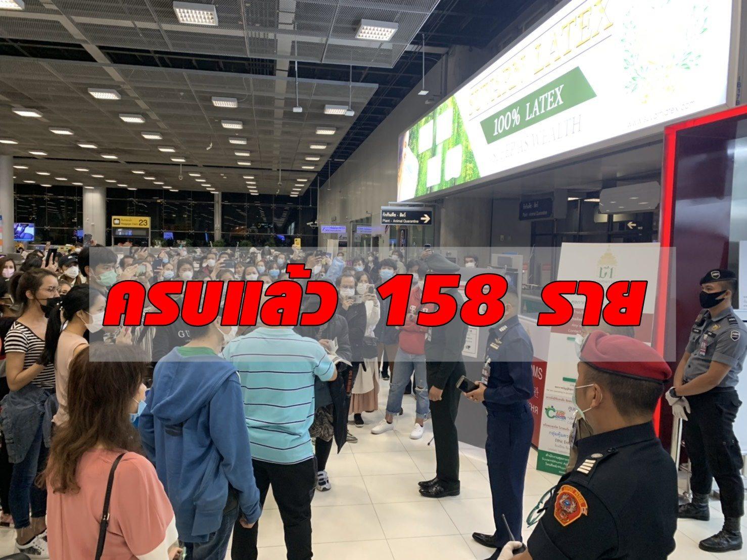 เผยคนไทยหนีกักตัว มารายงานตัวครบแล้ว 158 ราย