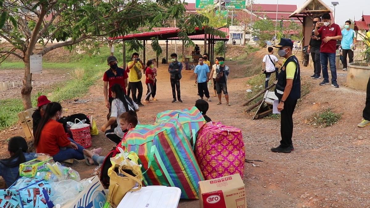 95 คนลาวติดด่านท่าลี่ หลังลาวปิดประเทศ รองผู้ว่าฯ เลย พาเข้าดูแลในสถานกักตัว