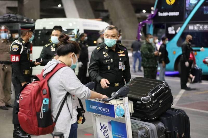 อีโอซีคัดกรองคนไทยบินจากมาเลย์-การ์ต้าเมื่อคืนเข้าควบคุมโรค