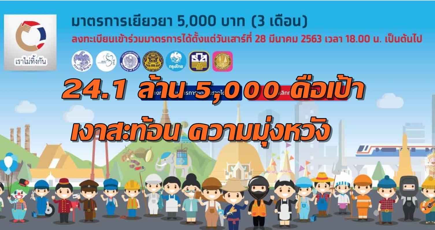 09.00 INDEX: 24.1 ล้าน 5,000 คือเป้า เงาสะท้อน ความมุ่งหวัง