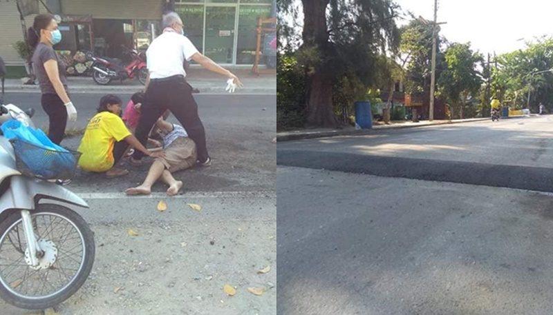 ญาติจ่อฟ้องอาญา-แพ่งเทศบาลประจวบฯ หลังผู้คุมเรือนจำหญิงสมองบวมดับ จากคันสะดุดบนถนนมหาราช 1