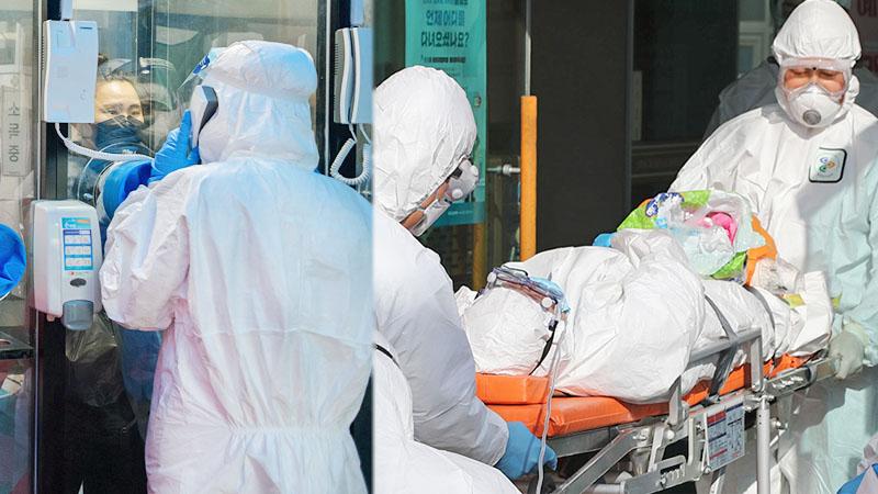 """โควิด: โสมใต้ผวาอีก ผู้ป่วยหายแล้ว 51 คนหวนพบ """"ผลบวก"""" คาดเชื้อหลบใน"""