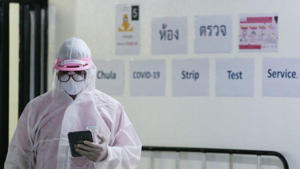 โควิด-19 : ผู้ติดเชื้อไวรัสโคโรนาในไทยเพิ่มขึ้น 38 ราย น้อยสุดในรอบ 3 สัปดาห์